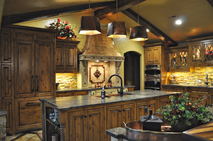 Complete kitchen design
